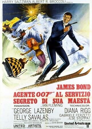 locandina di Agente 007. Al servizio segreto di Sua Maestà