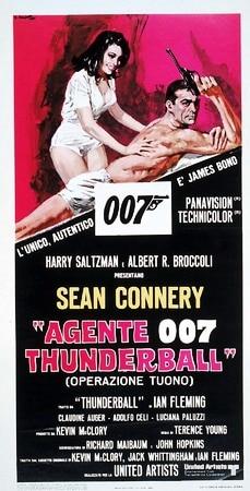 locandina di Agente 007. Thunderball (Operazione Tuono)