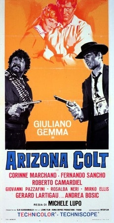 locandina di Arizona Colt