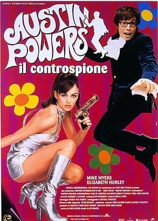 locandina di Austin Powers. Il controspione