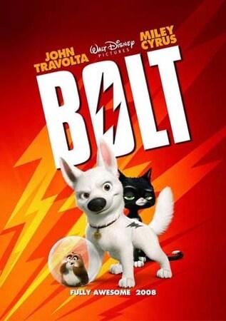 locandina di Bolt - Un eroe a quattro zampe
