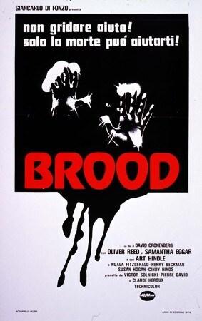 locandina di Brood - La covata malefica