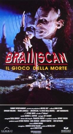 locandina di Brainscan. Il gioco della morte
