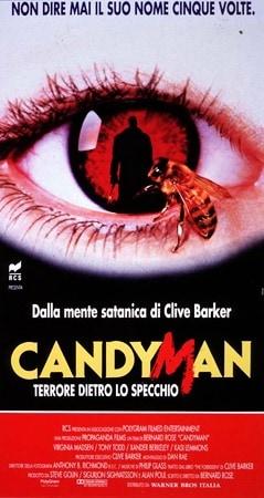 locandina di Candyman - Terrore dietro lo specchio