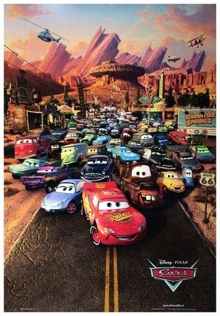 locandina di Cars - Motori ruggenti