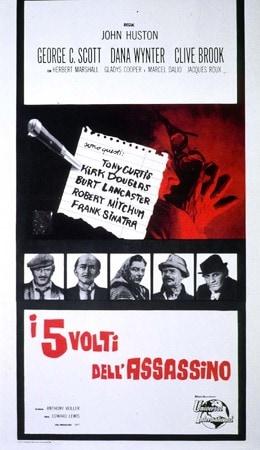locandina di I cinque volti dell'assassino