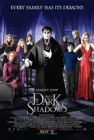 locandina di Dark Shadows