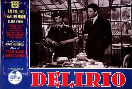 locandina di Delirio