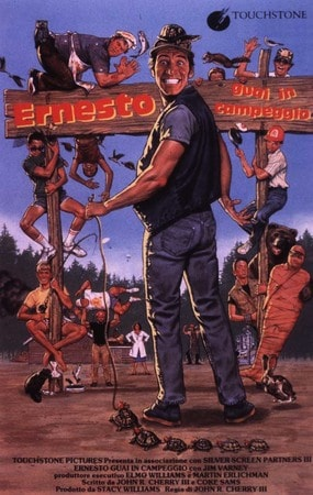 locandina di Ernesto guai in campeggio