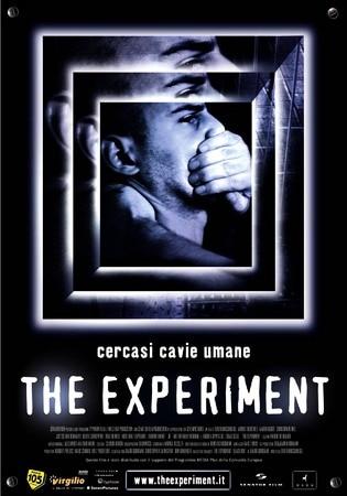 locandina di The Experiment. Cercasi cavie umane