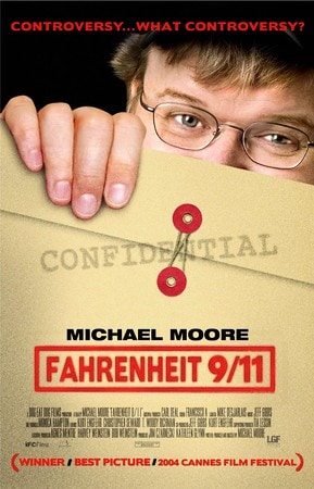 locandina di Fahrenheit 9/11
