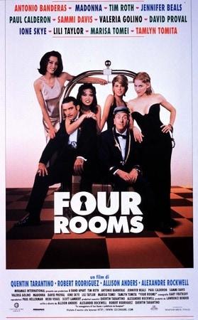 locandina di Four Rooms