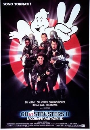 locandina di Ghostbusters II