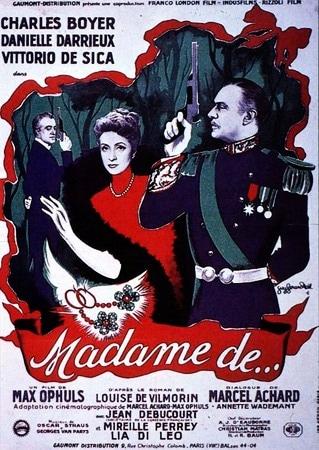 locandina di I gioielli di Madame de...