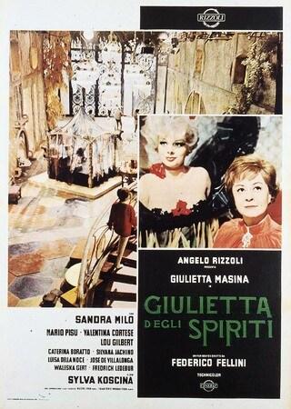 locandina di Giulietta degli spiriti