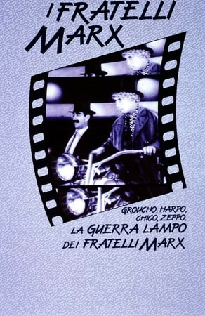 locandina di La guerra lampo dei fratelli Marx