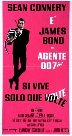 locandina di Agente 007. Si vive solo due volte