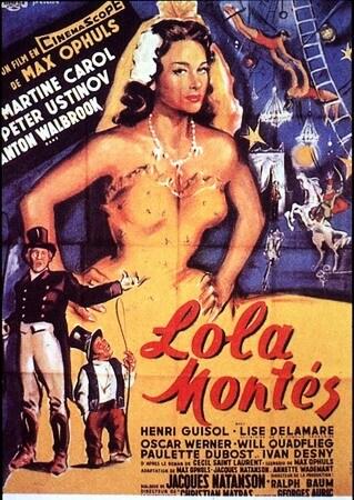 locandina di Lola Montès