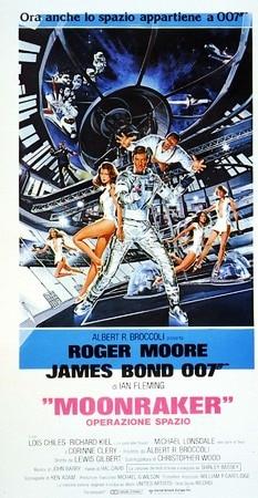 locandina di Agente 007. Moonraker Operazione spazio