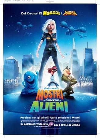 locandina di Mostri contro alieni