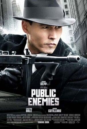 locandina di Nemico pubblico. Public Enemies