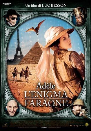 locandina di Adele e l'enigma del faraone
