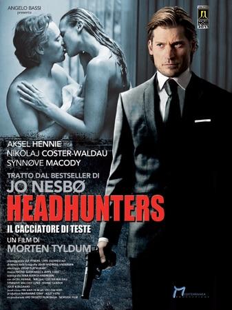 locandina di Headhunters - Il cacciatore di teste
