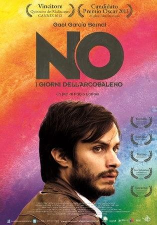 locandina di No - I giorni dell'arcobaleno