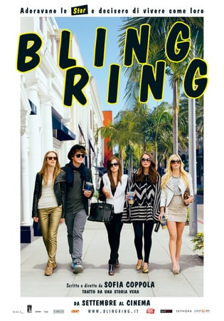 locandina di Bling Ring