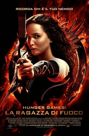locandina di Hunger Games: La ragazza di fuoco