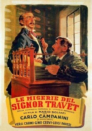 locandina di Le miserie del signor Travet