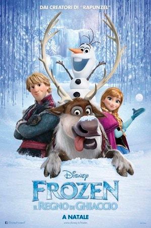 locandina di Frozen - Il regno di ghiaccio