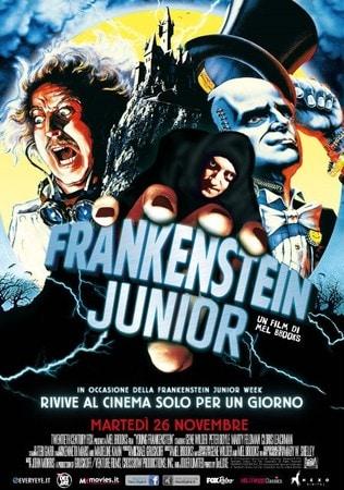 locandina di Frankenstein junior