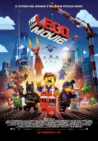 locandina di The Lego Movie