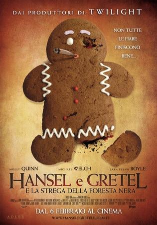 locandina di Hansel e Gretel e la Strega della foresta nera