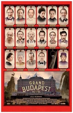 locandina di Grand Budapest Hotel