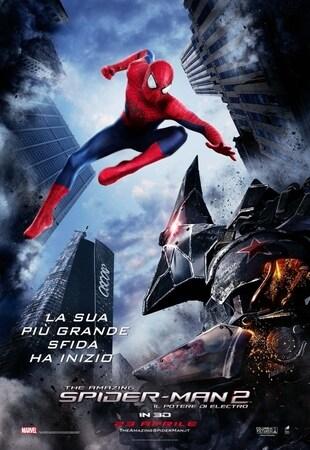 locandina di The Amazing Spider-Man 2 - Il potere di Electro