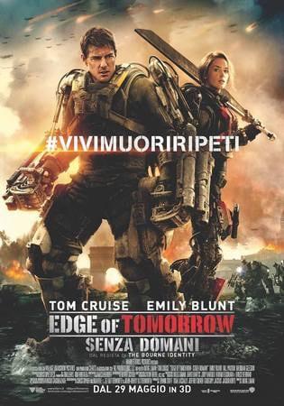 locandina di Edge of Tomorrow - Senza domani