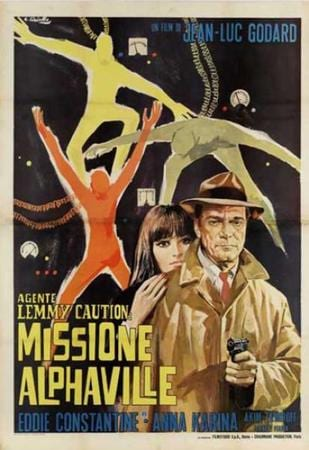 locandina di Agente Lemmy Caution: Missione Alphaville