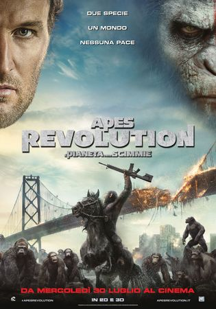 locandina di Apes Revolution: Il pianeta delle scimmie