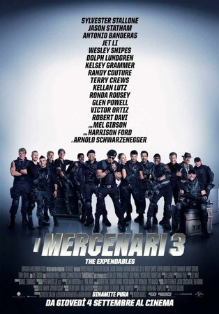 locandina di I mercenari 3 - The Expendables