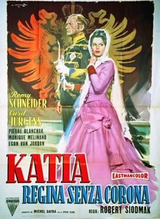 locandina di Katia, regina senza corona