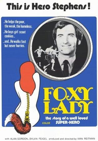 locandina di Foxy Lady