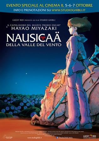 locandina di Nausicaä della valle del vento