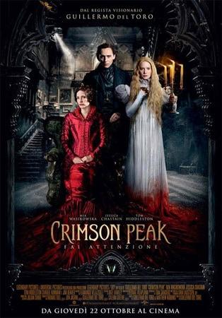 locandina di Crimson Peak