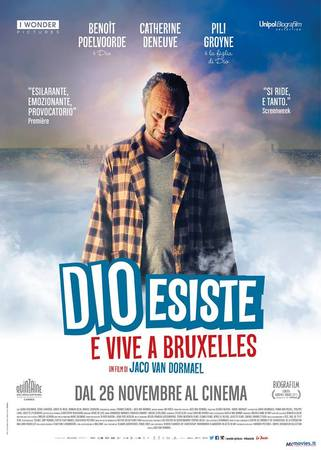 locandina di Dio esiste e vive a Bruxelles