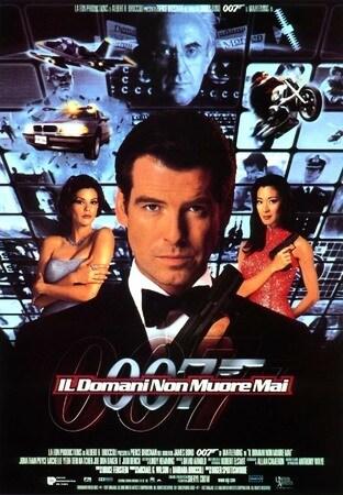 locandina di 007. Il domani non muore mai
