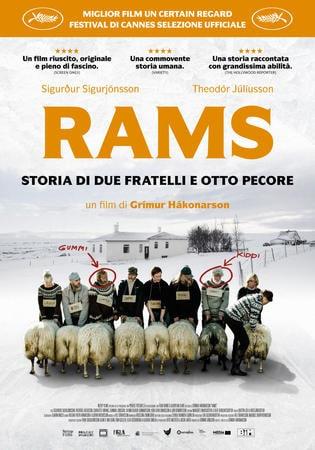 locandina di Rams - Storia di due fratelli e otto pecore