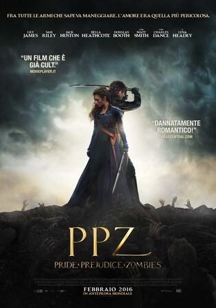 locandina di PPZ - Pride + Prejudice + Zombies
