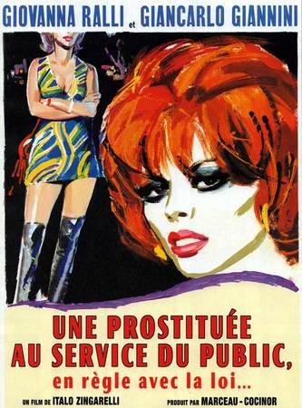locandina di Una prostituta al servizio del pubblico e in regola con le leggi dello stato